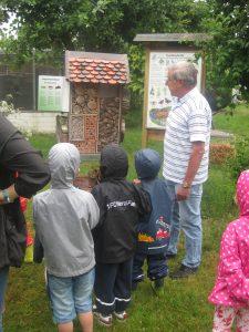 Insektenhotel auf dem Naturlehrpfad des gem. Vogelzucht- und Schutzverein Herzogenaurach e.V.